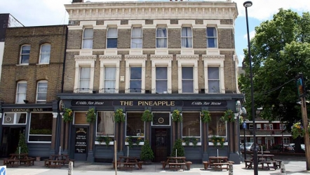 the pineapple, southwark