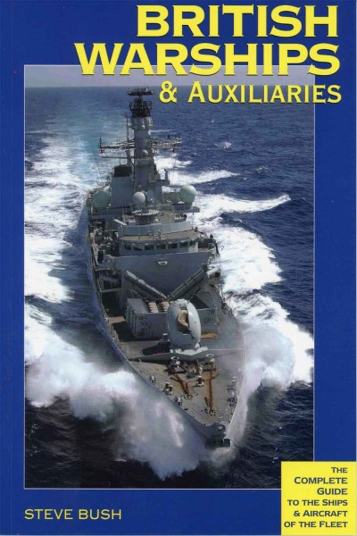 british warships and auxiliaries book cover